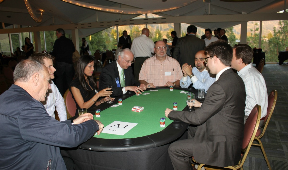 poker tournament players battle it out till midnight. Black Bedroom Furniture Sets. Home Design Ideas